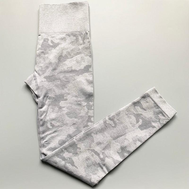 Camo Seamless High Waist Yoga Pants