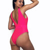 Women's One Piece Deep-V Swimsuit