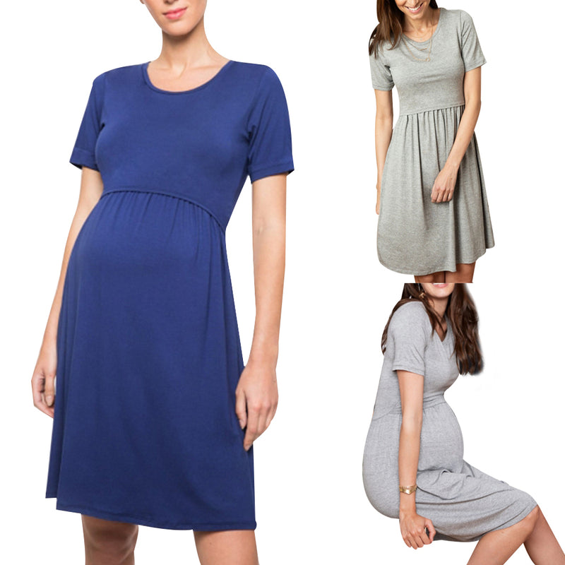 Summer Tunic Maternity Nightgown dress