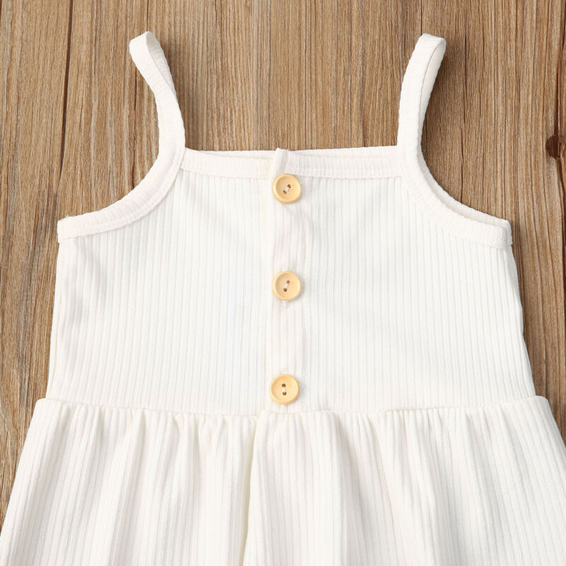 2-PCS Baby Girl's Summer Tank Top Outfit