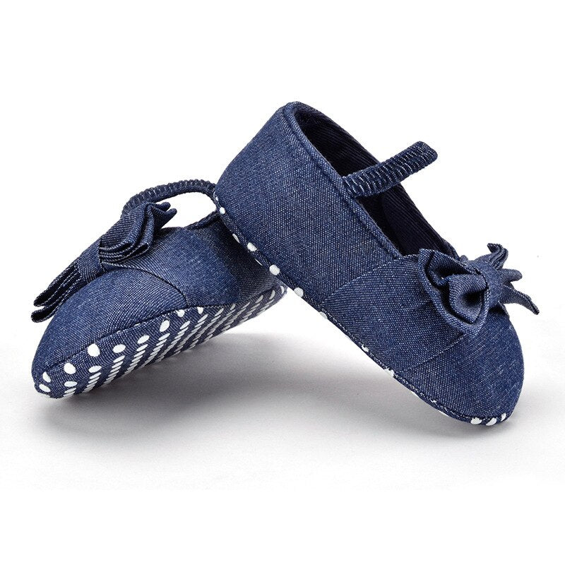 Cute Soft Sole Hot Blue Shoes