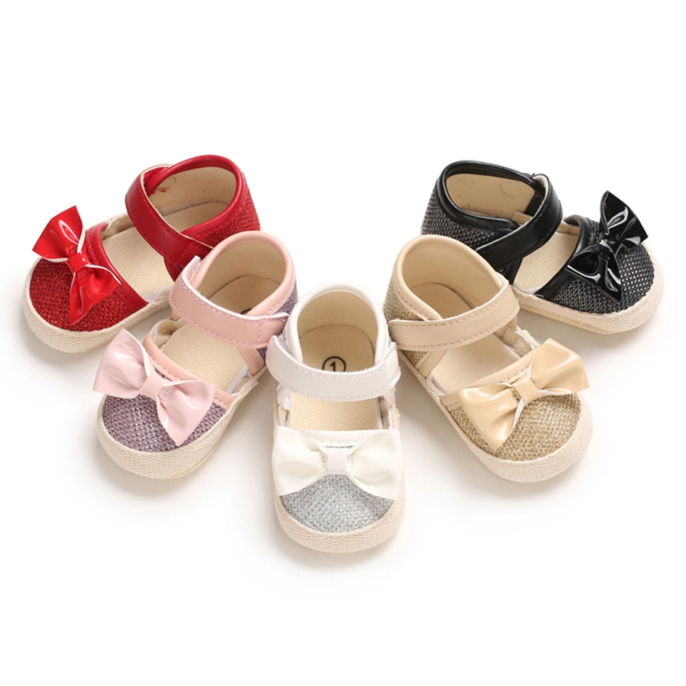 Baby Girl's Bow Knot Princess Casual Shoes