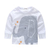 Elephant Long Sleeve Shirt & for Baby boy