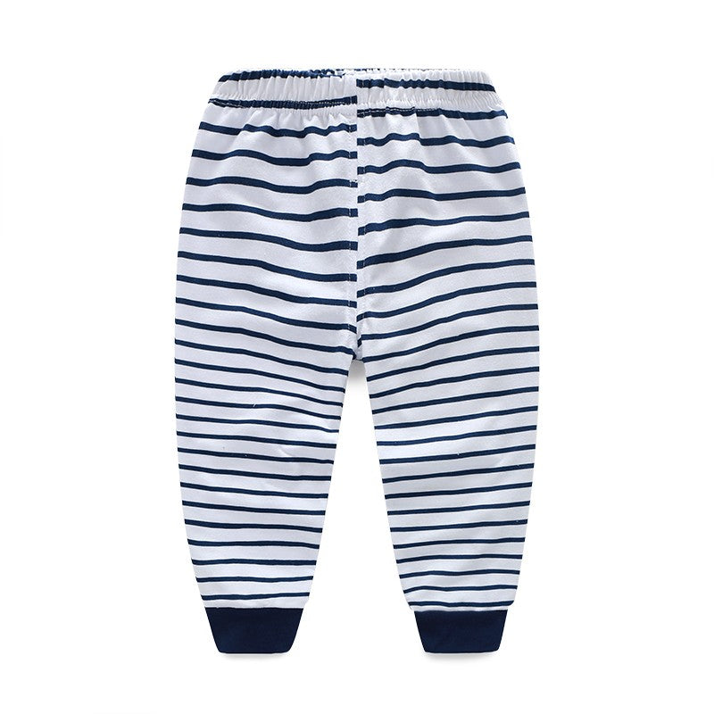 cute jogger pants for toddler stripes