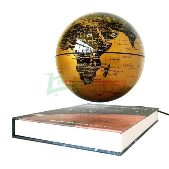 Anti-Gravity Rotating Globe - Levitating Earth! - RockyTrade.net