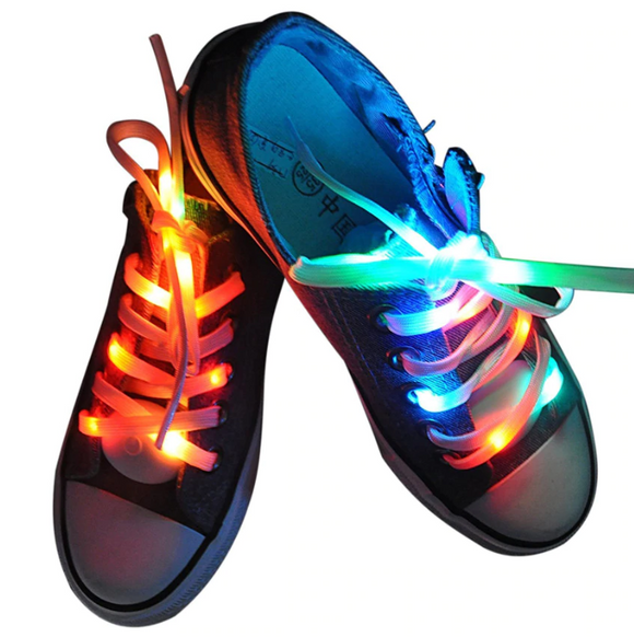 Party Laces - Glowing LED Shoelaces - RockyTrade.net