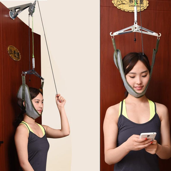 Home Use Over Door Cervical Traction Set - Relieve Neck & Shoulder Pain - RockyTrade.net