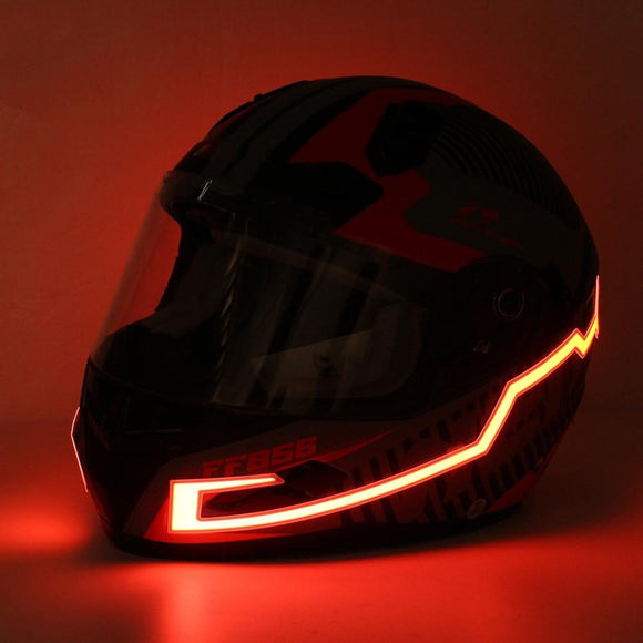Motorcycle Helmet Light Strips - RockyTrade.net
