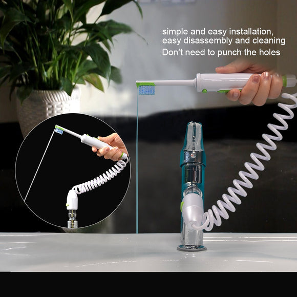 Water Jet Toothbrush and Water Flosser - RockyTrade.net