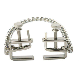 Adjustable C-Clamp Nipple Clamps