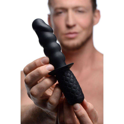 Ass Thumpers - The Handler 10x Silicone Vibrating Thruster