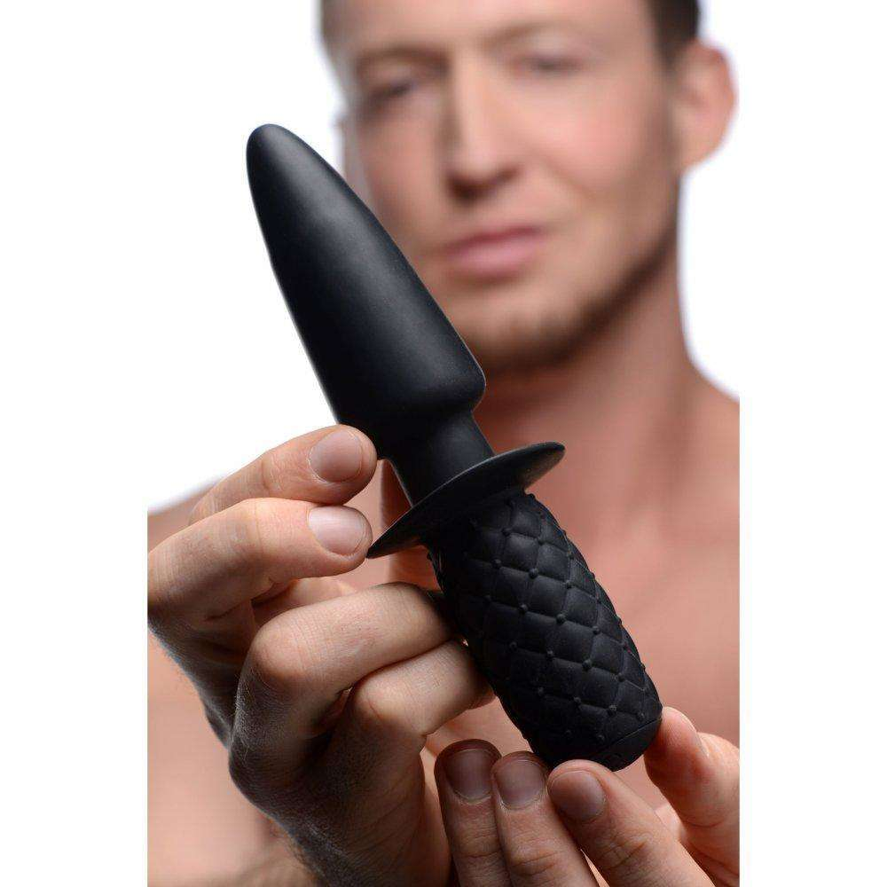 Ass Thumpers - The Plug - 10x Silicone Vibrating Thruster