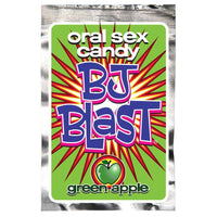 BJ Blast Oral Sex Candy 3 Pack - Strawberry, Cherry, and Green Apple