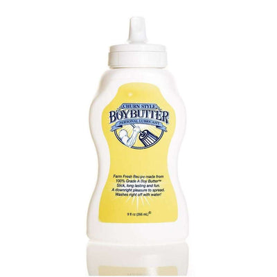 Boy Butter Original Personal Lubricant 9oz Squeeze Bottle