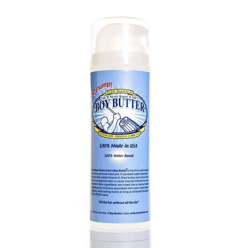 Boy Butter Water Based Lube Lubricant 5oz EZ Pump