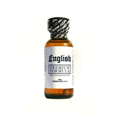 English WHITE Label Jumbo Size Nail Polish Remover - UPS Ground Shipments Only