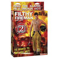 Filthy Fireman Inflatable Sex Doll