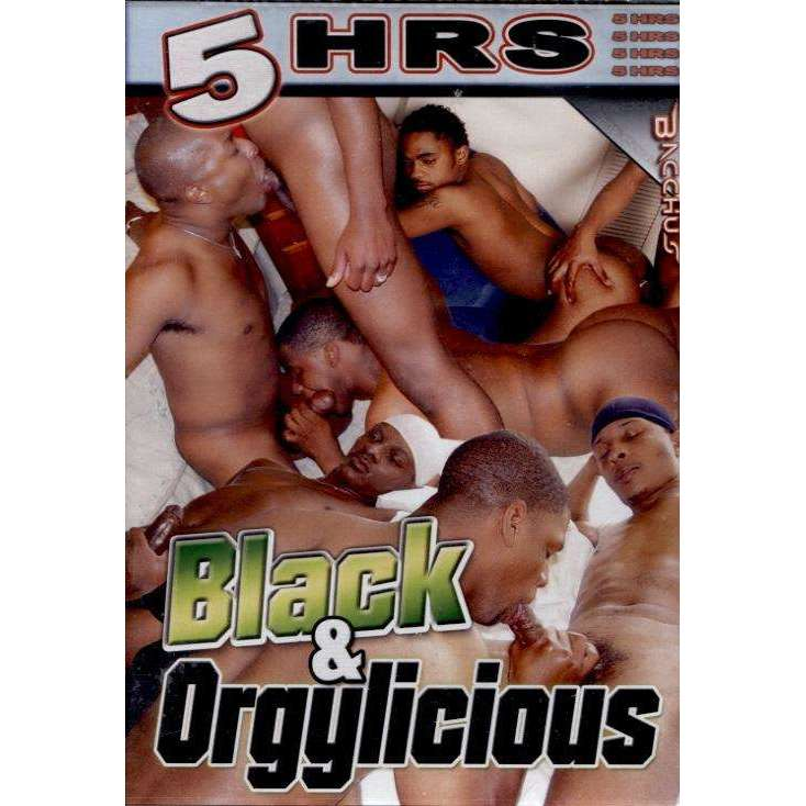 GAY DVD - Black And Orgylicious - 5 Hour