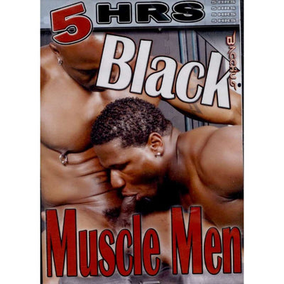 GAY DVD - Black Muscle Men - 5 Hour