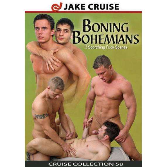 GAY DVD - Boning Bohemians - Jake Cruise