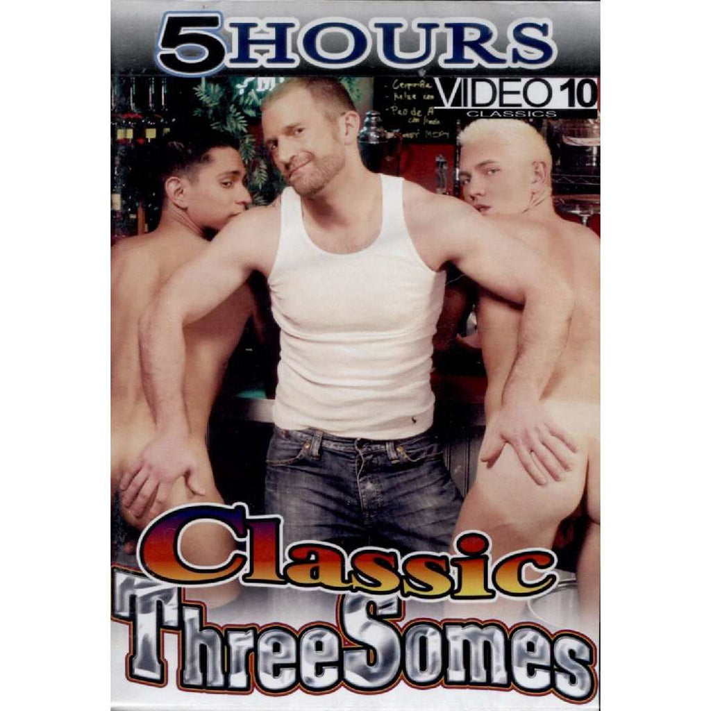 GAY DVD - Classic Three Somes - 5 Hour