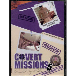 GAY DVD - Covert Missions 5  - Active Duty