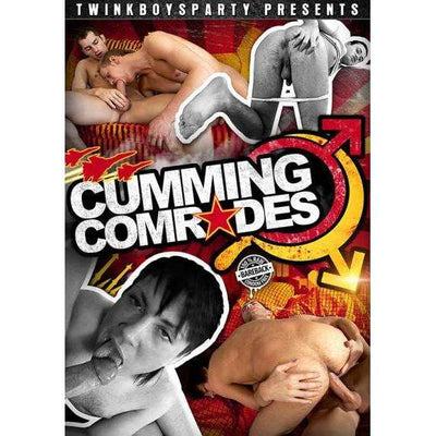 GAY DVD - Cumming Comrades - Twink Boys Party - Bareback