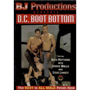 GAY DVD - D.C. Boot Bottom - Bob Jones Productions