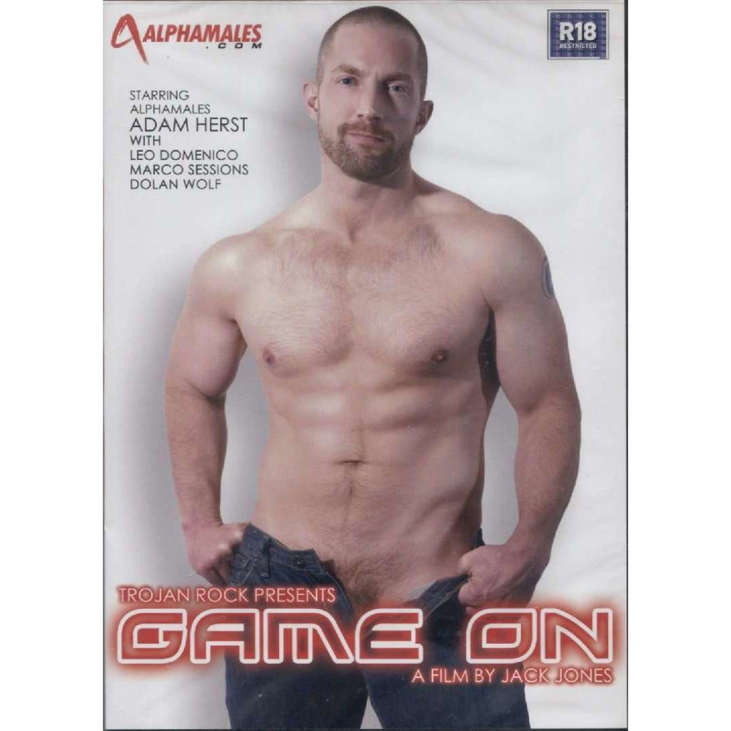 GAY DVD - Game On - Alpha Males