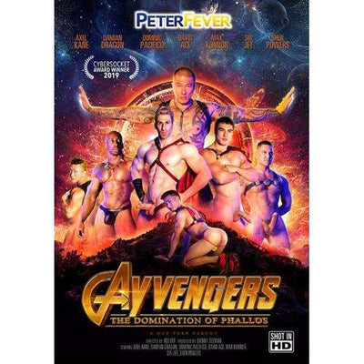 GAY DVD - GAYVENGERS - The Domination Of Phallos - Peter Fever