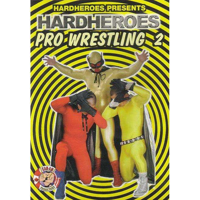 GAY DVD - Hard Heroes Pro Wrestling 2 - Can-Am
