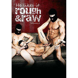 GAY DVD - He Likes It Rough & Raw Vol. 2 - BROMO Bareback