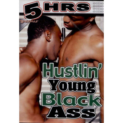 GAY DVD - Hustlin' Young Black Ass - 5 Hour