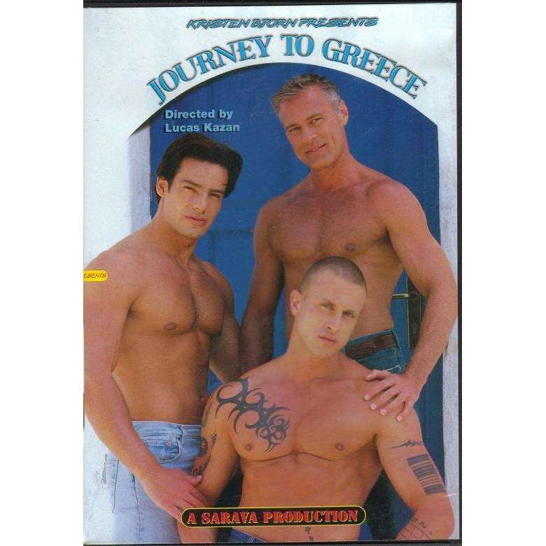 GAY DVD - Journey To Greece - Kristen Bjorn