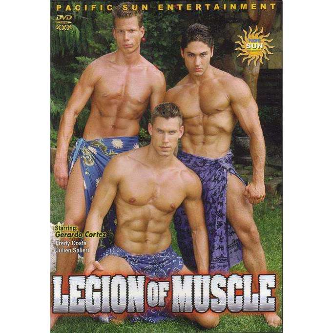 GAY DVD - Legion Of Muscle - Pacific Sun
