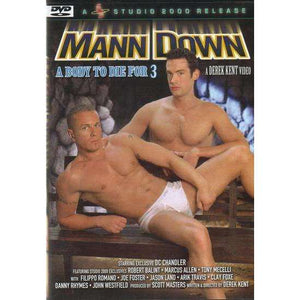 GAY DVD - Mann Down - A Body To Die For 3 - Studio 2000