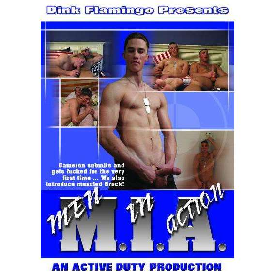 GAY DVD - MIA: Men in Action - Active Duty