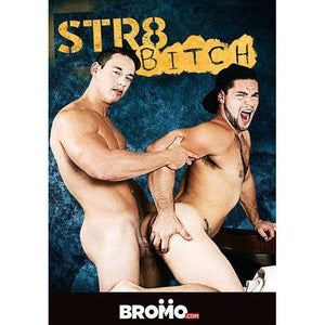 GAY DVD - STR8 Bitch - BROMO Bareback