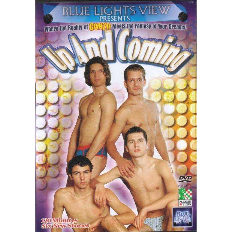 GAY DVD - Up And Coming - Blue Lights View - Six New Stories