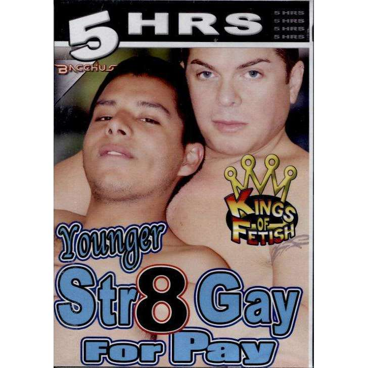 GAY DVD - Younger Str8 Gay For Pay - 5 Hour