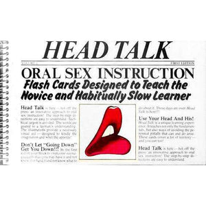 Head Talk -  Oral Sex Instruction -  Flash Cards for Teaching