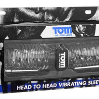 Tom Of Finland Tools - Head to Head Vibrating Dual Masturbator