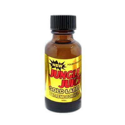 Jungle Juice Gold Label 30ml Jumbo Bottle - Nail Polish Remover - UPS Ground Shipments Only