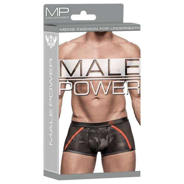 Male Power Underwear - Sport Shorts Camo Net