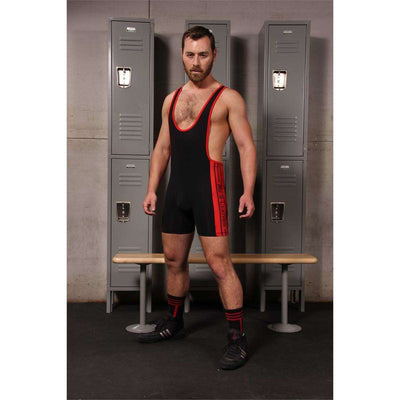 Mr. S Leather - Wrestler Wrestling Singlet - Closeout