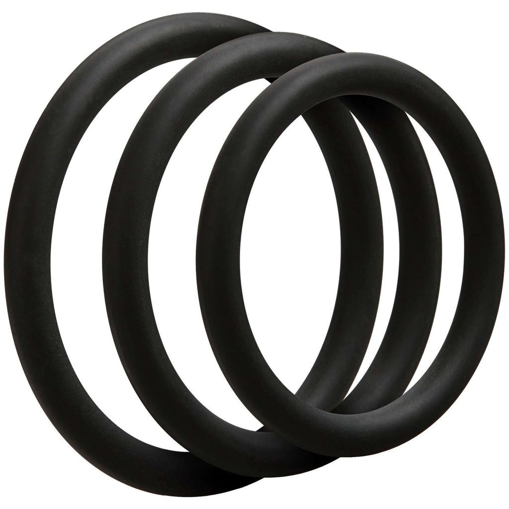Optimale - 3 Silicone Cock Ring Set - Thin