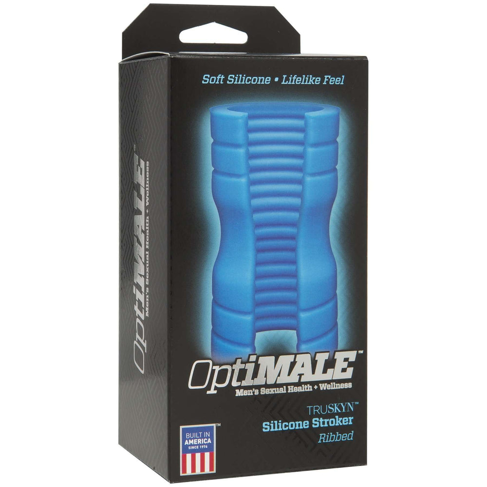 OptiMALE - TRUSKYN Silicone Stroker Beaded or Ribbed Masturbator