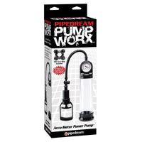 Pump Worx Accumeter Power Cock Pump