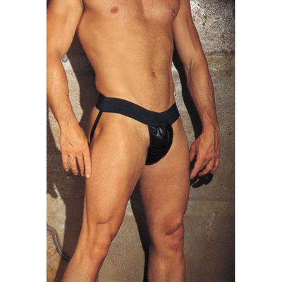 Rimba - Leather Backless G-String Jockstrap
