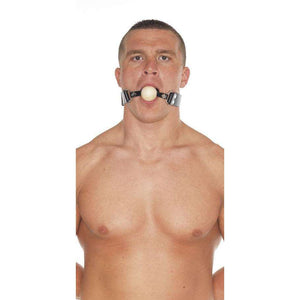 Rimba - Leather Gag With Wooden Ball